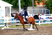 Saturday-4H Saddle Horse Open Jumping Show