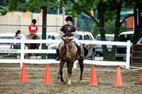 Tuesday-4H Saddle Horse A Group Walk Trot english Contest Show